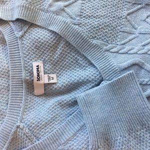 Sonoma Sweaters - Baby blue sweater